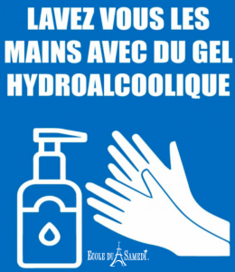 Lavez mains